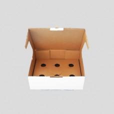 Caixa P/ 6 Cupcakes 22x28x10