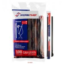 Canudo 6 SAC Mexedor 402 Preto - Caixa 1x2000