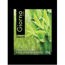 Sachê 15 grs Folhas de Bambu e Hortelã