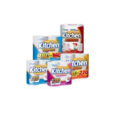 Toalha Kitchen Folha Dupla 12X2X60